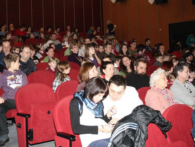 Premiéra filmu Modrý tygr v Klatovech