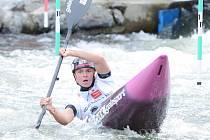 ME ve vodním slalomu juniorů a U23 2017: Karolína Galušková.
