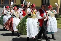 Oslavy obce v Hrádku.
