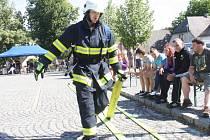 Poslední kolo Šumavského hasiče ve Strážově 2015.