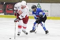 Šumavská liga amatérského hokeje 2017/2018: Tango (bílé dresy) - Nýrsko