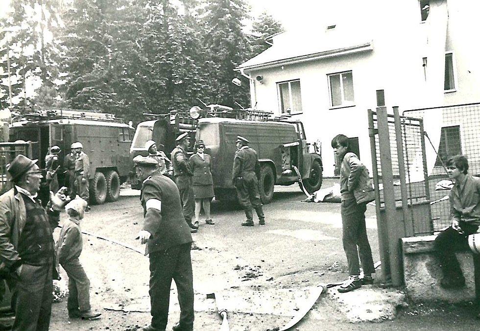 Ohlédnutí za požárním útokem v Újezdci.