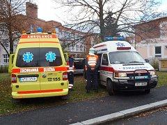 Dopravní nehoda v Horažďovicích