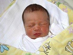 Matyáš Majer z Horažďovic se narodil v klatovské porodnici 24. ledna ve 13.30 hodin. Vážil 2800 gramů a měřil 46 cm. Rodiče Monika a Martin věděli dopředu, že jejich prvorozené miminko bude chlapeček.
