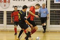 Okresní soutěž ve futsalu Cani Rosso Gang (m) - Inter Winter 8:0.