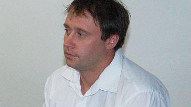 Jaroslav Mařinec u klatovského soudu