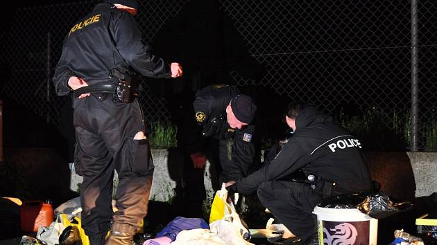 Policisté chytili v Červených Dvorcích zfetovaného řidiče.