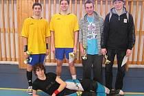 Mezi vysokoškoláky slavili letošní prvenství florbalisté THC Klatovy.