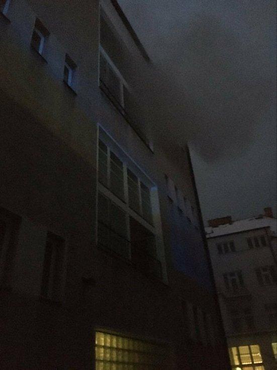 Požár v Sušici.
