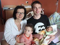 Štěpán Pitel z Klatov (3930 gramů, 51 cm) se narodil v klatovské porodnici 22. března ve 20.46 hodin. Rodiče Michaela a Zbyněk věděli dopředu, že Ondřej (2,5) bude mít brášku.