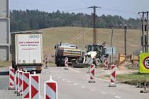 Oprava průtahu v Horažďovicích.