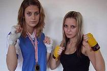 Tereza Martínková (vlevo) a Simona Brandnerová.