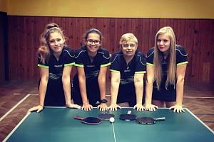 Klatovské stolní tenistky finišují v přípravě na první ligu.