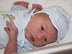 První miminko roku 2015 narozené v Klatovské nemocnici je Martin Švejnoch.