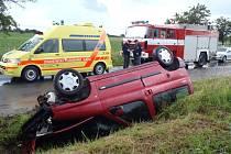 Nehoda u Svéradic.