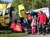 FOTOGALERIE: Děti lákala prohlídka vrtulníku a zbraní