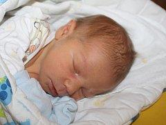 Antonín Stach ze Železné Rudy (3550 gramů, 50 cm) se narodil v klatovské porodnici 26. srpna v 15.14 hodin. Rodiče Pavla a Tomáš přivítali očekávaného prvorozeného synka na svět společně.