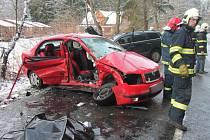 Dopravní nehoda u Radešova