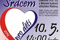 Plakát akce Srdcem pro děti.