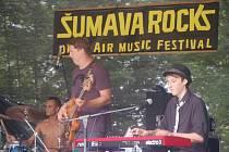 Hudební festival šumava Rocks 2010 Sušice Santos 127. ročník – kapela JAM4YOU z Horažďovic