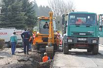 V Janovicích nad Úhlavou dělají kompletní rekonstrukci Klenovské ulice