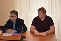 Marcel Fryje ze Sušicka u soudu v Klatovech.