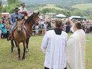 V Uhlišti se v sobotu konalo tradiční žehnání koní.