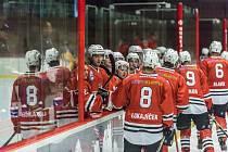 Hokejisté SHC Klatovy.