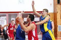 2. liga 2016/2017: BK Klatovy (červené dresy) - Slavoj BK Litoměřice B 69:81
