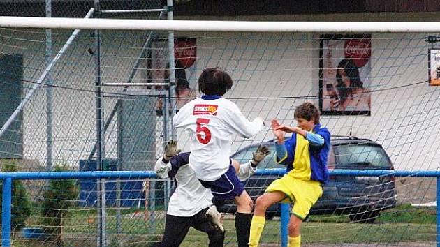 Fotbalové utkání dorostu Horažďovice - Měčín
