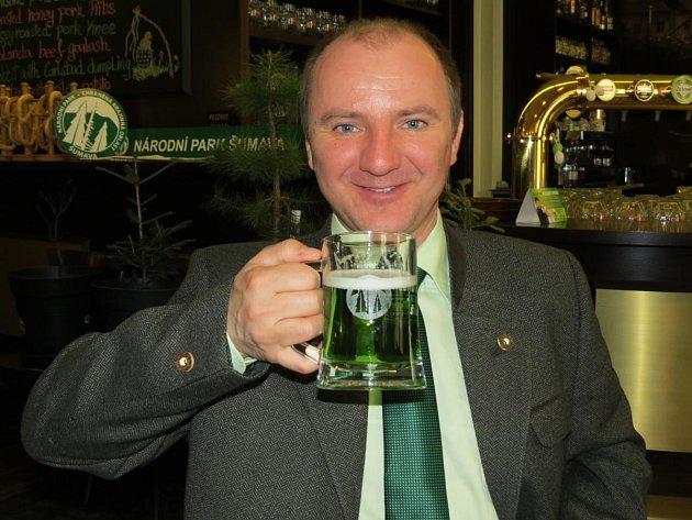 Na zelené pivo se těší i Jiří Mánek