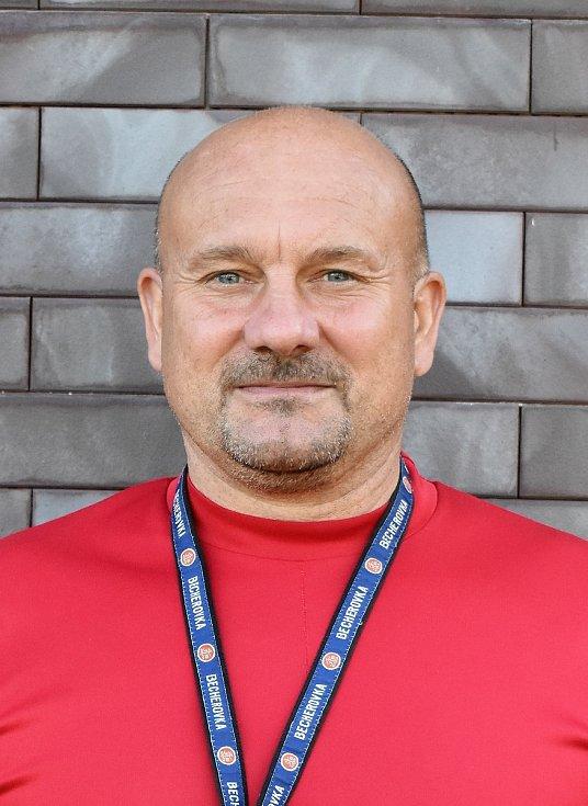 Milan Dejmek, trenér FC Rokycany.