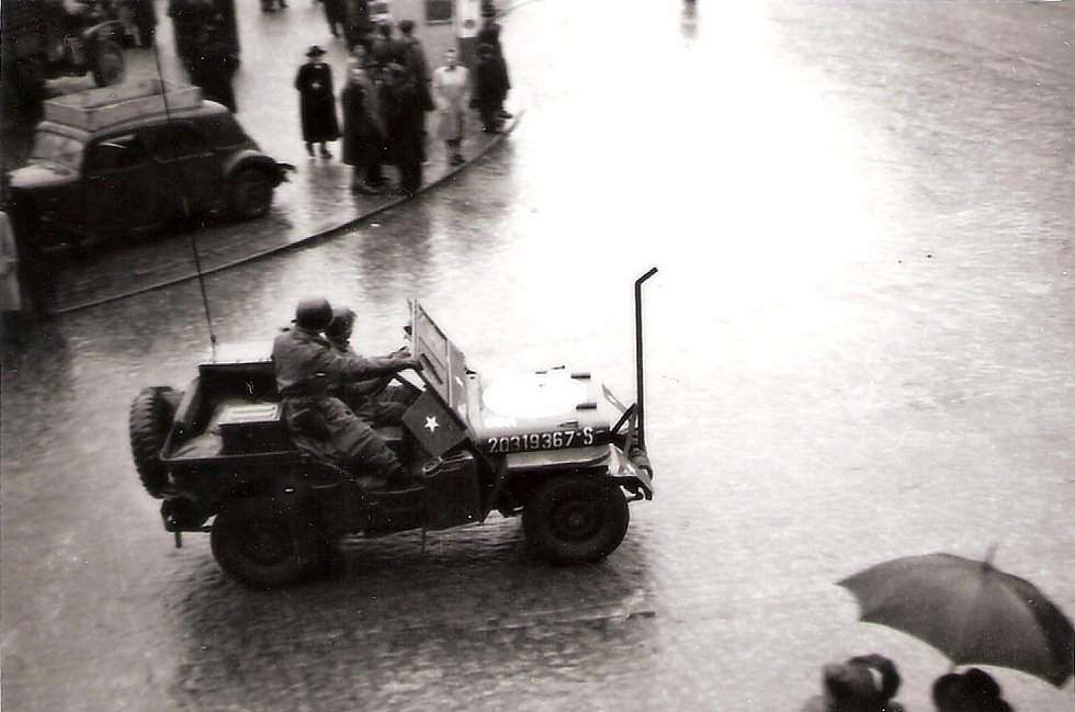 Květen 1945 v Klatovech.