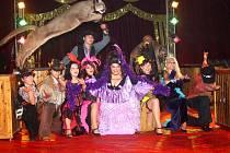 Vystoupení cirkusu Jo-Joo v Klatovech