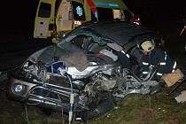 Tragická dopravní nehoda u Rabí