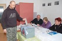 Volby v Dražovicích na Sušicku