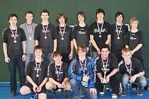 Třetí nejlepší florbalový tým středních škol v republice je z Gymnázia Jaroslava Vrchlického Klatovy.