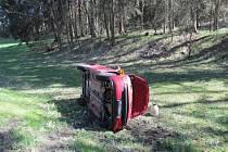 Nehoda u Petrovic u Sušice.