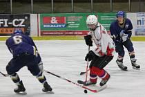 Liga juniorů: HC Klatovy (bílé dresy) - HC PZ Kladno 5:4 sn
