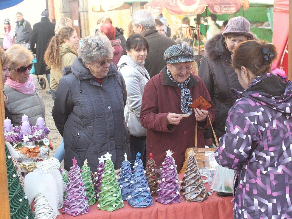 Vánoční jarmark v Horažďovicích