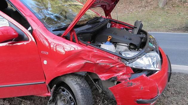 Nehoda u Kolince.
