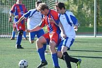 Open liga mužů v malé kopané: II. liga Magic Klatovy - TJ Klatovy Lorenc 04 2:3.
