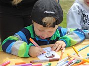 V sobotu se na fotbalovém hřišti v Horažďovicích konal dětský den.