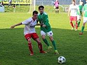 Divize 2016/2017: Klatovy (bílé dresy) - Český Krumlov 0:1