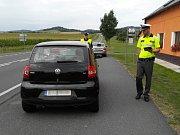 V Klatovech se v pátek konala dopravně bezpečnostní akce.