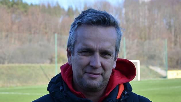 Trenér Klatov Michal Čadek.