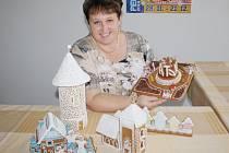 Radka Grösslová chystá výstavu Perníkové Klatovy.