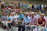 Lidé přišli do Spáleného lesa uctít památku popravených