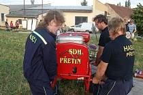 Oslavy 80 let SDH Přetín