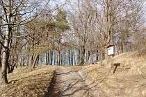 Křesťanský vrch s křížovou cestou v Klatovech.